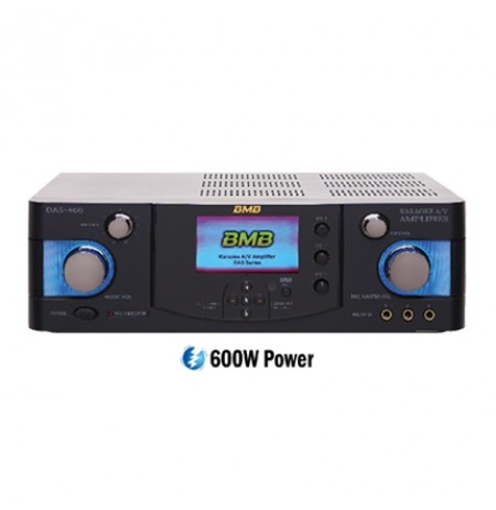 BMB 600W 4-Channel Karaoke Mixing Amplifier: BMB-DAS-400