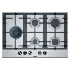 Bosch 75cm Gas Cooktop Stainless steel: PCS7A5B90A