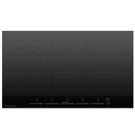 Fisher & Paykel Induction Cooktop, 90cm, 5 Zones, with SmartZone: CI905DTB4