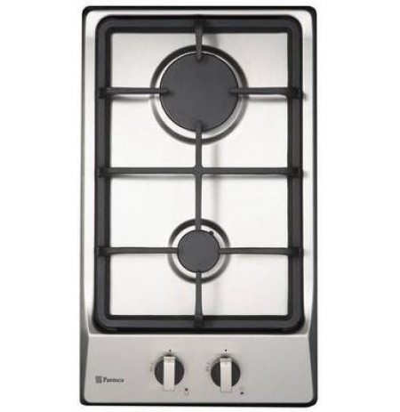 Parmco 300mm Domino Hob, Gas, Stainless Steel: HO12S2G