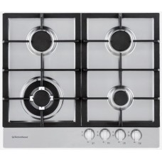 Robinhood 4 Burner Gas Cooktop: HGA604FKSS