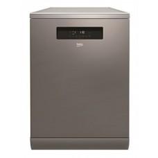 Beko Stainless Steel Freestanding Dishwasher 16 Place Settings, Full-Size: BDF1630X