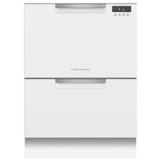Fisher and Paykel Double Dishdrawer White: DD60DCW9