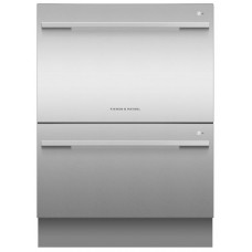Fisher & Paykel Double DishDrawer™, 14 Place Settings, Sanitise Series 7 | Contemporary Style: DD60DDFX9