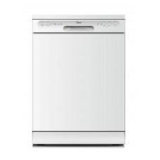 Midea 12 Place Setting Dishwasher - White: JHDW123WH