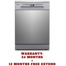 Midea 15 Place Setting 3-Layers Dishwasher Stainless Steel with 3-year Warranty: JHDW152FS