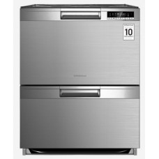 Robinhood 7 Function Double Drawer Dishwasher Stainless Steel: RHDDW60X