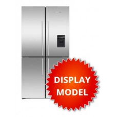 Fisher & Paykel 605L French Quad Door Fridge: RF605QDUVX1 -DISPLAY MODEL