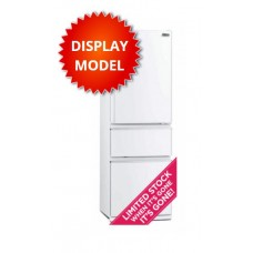 Mitsubishi 402L Connoisseur CX Designer Series Two Drawer Inverter Fridge: MR-CX402EJ-W-A