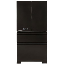 Mitsubishi 630L LX Grande French Door Fridge - Black: MRLX630EMGBKA