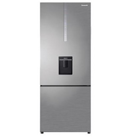 Panasonic Premium 450L Hygiene Water Dispensing Bottom- Mount Fridge: NRBX46CWSAU