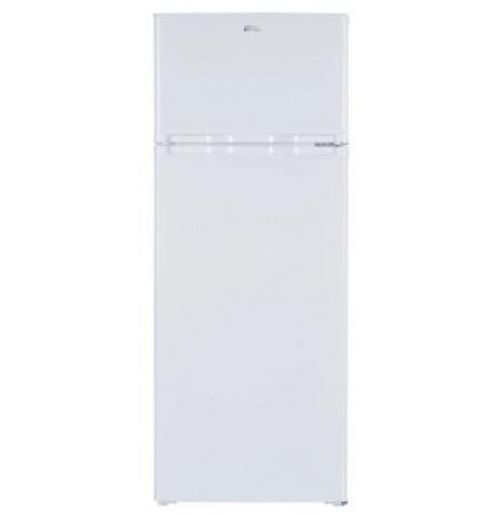 Parmco 206L Fridge Freezer, Top Mount, White:FR-206WTM-FF
