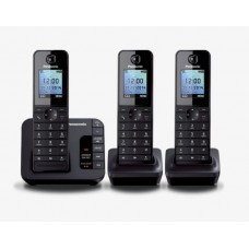 Panasonic Triple Handset Cordless Phone: KX-TGH223