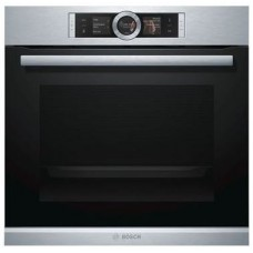 Bosch 60cm Stainless Steel Pyrolytic Oven Serie | 8 with TFT touchscreen control: HBG6767S1A - LAST ONE! Display only
