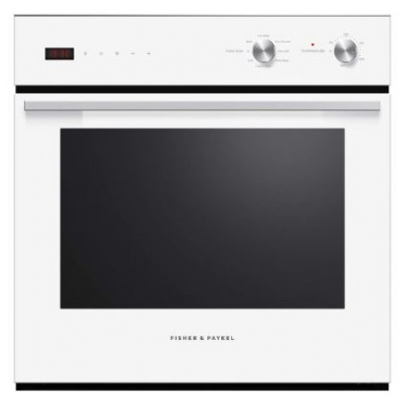 Fisher & Paykel 60cm, 85L, 7 Function, White, Built-in Oven: OB60SC7CEW2