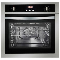 Parmco 600mm 58Litre Oven, 8 Function, Stainless Steel: OX16S8