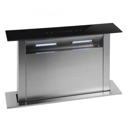 Parmco 600mm Rear Riser Downdraft, Glass: DD600RRG