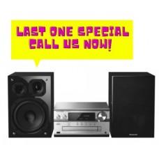 Panasonic Wireless CD Hi-Fi Micro System: SC-PMX152GNS - DISPLAY