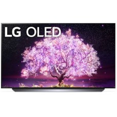 "LG TV OLED 48"" C1 Series, Cinema Screen Design 4K Cinema HDR WebOS Smart AI ThinQ Pixel Dimming: OLED48C1PVB"