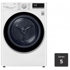 LG 8kg Heat Pump Dryer with Inverter Control: DVH508W