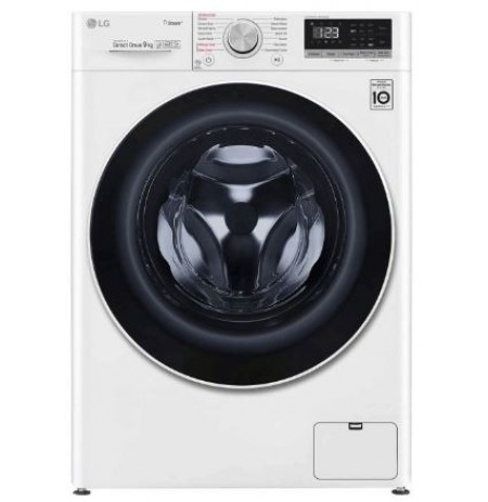 LG 9kg Front Load Washing Machine with Steam: WV5-1409W