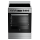 BEKO 60cm Stainless Steel Vitroceramic Upright Cooker: BFC60VMX Display only, LAST ONE!