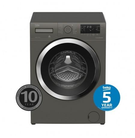 Beko 8.5kg Manhattan Grey Front Loading Washing Machine: BFL8510MG