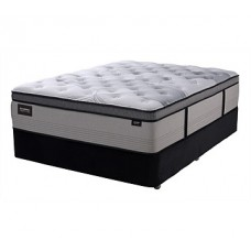 SleepMaker Prestige Lavish King Firm Mattress and Base Set: K02600KM_K02608KP