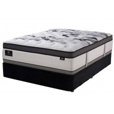 SERTA OLYMPIA PLUSH MATT & BASE KING