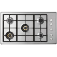 Fisher & Paykel 90cm Gas on Steel Cooktop: CG905CNGX2