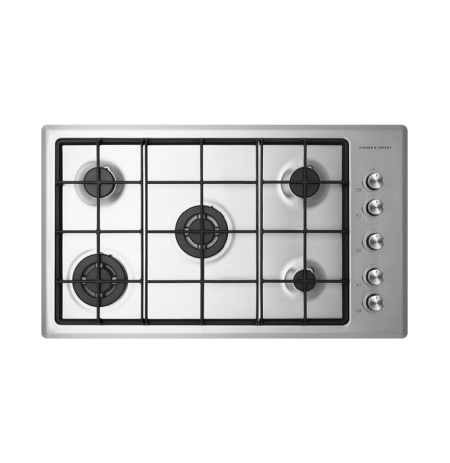 Fisher & Paykel Gas on Steel Cooktop, 90cm, LPG: CG905CLPX2