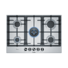 Bosch 75cm Gas Cooktop Stainless steel: PCR7A5B90A
