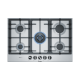 BOSCH 75 cm Gas Cooktop Stainless steel: PCR7A5B90A