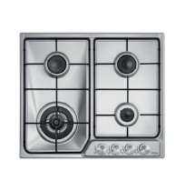 Haier 60cm Gas Cooktop, Stainless Steel: HCG604WX1