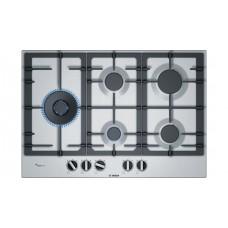 Bosch 75cm Gas Cooktop Stainless steel: PCS7A5B90A