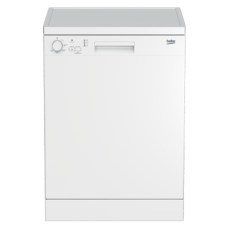 Beko 60cm White Freestanding Dishwasher: DFN05410W
