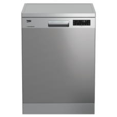 Beko 60cm Dishwasher Stainless Steel: DFN28430X