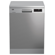 Beko 60cm Dishwasher Stainless Steel: DFN38450X