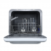 Midea 5L Mini Dishwasher Dishwasher Silver: JHMINIDWS