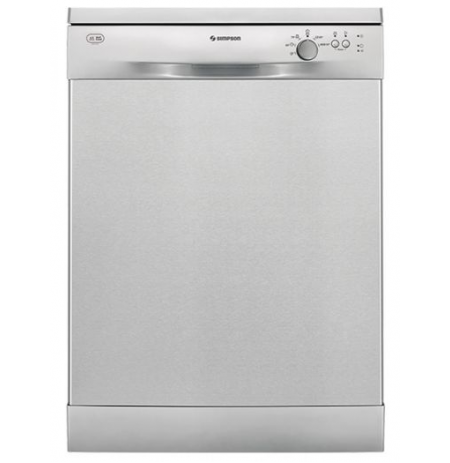 Simpson Freestanding Dishwasher: SSF6106X