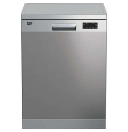 Beko 60cm Dishwasher Stainless Steel: DFN16420X