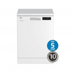 Beko 16 PS Freestanding Dishwasher, White: BDF1620W