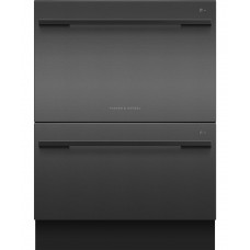 Fisher & Paykel Double DishDrawer™ Dishwasher, 14 Place Settings, Sanitise: DD60DDFB9