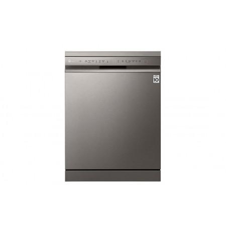 LG QuadWash® Dishwasher in Platinum Steel Finish: XD5B14PS