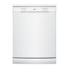 Midea 12 Place Setting Dishwasher - White: JHDW121WH