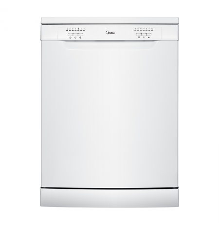 Midea 12 Place Setting Dishwasher - White: JHDW122WH