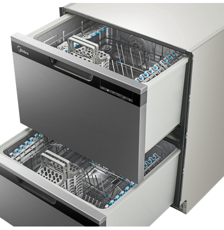 Midea Double Drawer Dishwasher: JHDWDD14SS