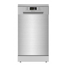 Parmco 450mm Freestanding Dishwasher, Slim, Economy, Stainless Steel: PD45SLIMSS2