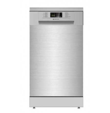 Parmco 450mm Freestanding Dishwasher, Slim, Economy, Stainless Steel: PD45-SLIM-SS-2