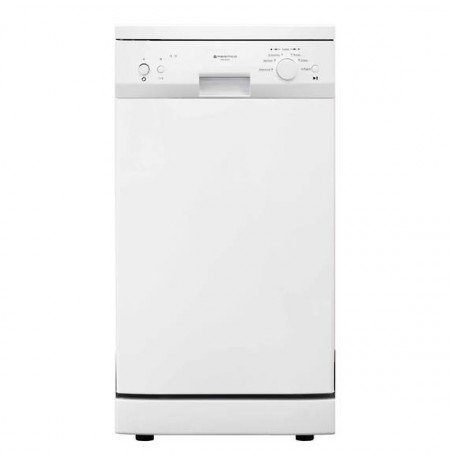 Parmco 450mm Freestanding Dishwasher, Slim, Economy, White: PD45-SLIM-W-1